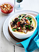 Soft Polenta with Mixed Mushrooms