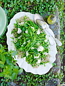 Pea and Barley Salad