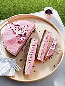Erdbeer-Käsekuchen-Riegel