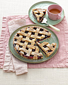 Crostata di ciliegie (cherry pie from the Euganean Hills, Italy)