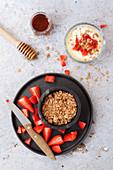 Granola Strawberries