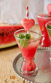 From Hendevaneh (Persian watermelon lemonade)