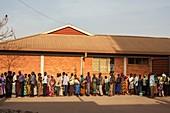 Hospital queue