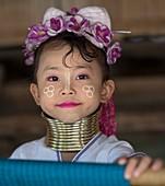 Myanmarese Kayan girl