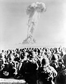 Operation Buster-Jangle atom bomb test, 1951