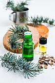 Cedar wood essential oil