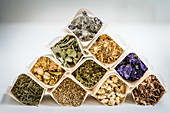 Assortment of dried plants