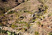 La Gomera landscape near Benchijigua, Canary Islands