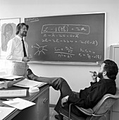 Bell and Veltman at CERN, 1973