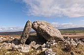 Sweyne's Howes Neolithic burial chamber, Gower, Wales, UK