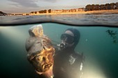 Underwater archaeology, Arles, France