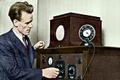 Philo T Farnsworth, US TV pioneer