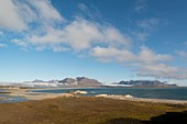 Glacial landscape, Eidenbrukt, Svalbard