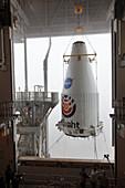InSight Mars lander launch preparations, April 2018