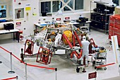 Mars 2020 descent stage preparations, 2018