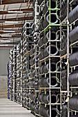 Tyres in warehouse, UK