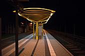 Railway station, Gera, Germany