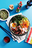 Californian bibimbap (Korea)