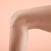 Woman's leg and knee
