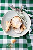 Coconut tiramisu