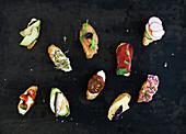 Mini sandwich set