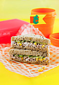 Tuna and Sweet Corn Sandwich