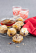Cranberry, Oatmeal and Cinnamon Scones
