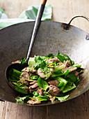 Stir-Fried Thai Coconut and Coriander Pork