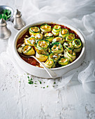 Vegetable cannelloni with butternut and ricotta