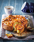 Orange and brandy buns