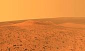 Wdowiak Ridge on Mars, Opportunity rover image