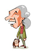 Jane Goodall, British primatologist