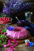 Beeren-Käsesahnekuchen