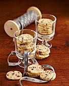 Cranberry-Cookies zu Weihnachten