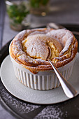 Souffle with Chartreuse