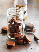 Chocolate Almond Macaroons