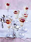 Prosecco and Raspberry Jellies