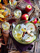 Cider and Apple Punch