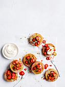 Strawberry Pistashio cakes