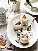 Chocolate and Cinnamon Affogato Shots