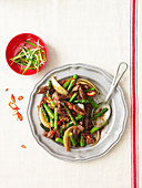 Beef and Asparagus Stir Fry with Oyster Sauce