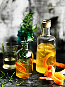 Pink Grapefruit and Tarragon Vinegar