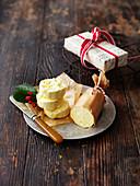 Orange Hard Sauce zu Weihnachten (England)