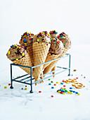 Chocolate munchies ice cream