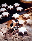 Cinnamon stars for Christmas