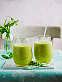 Pineapple Mint Slushie