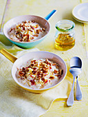 Apple Pecan and Quinoa Bircher Muesli