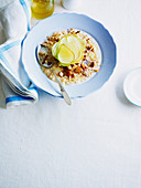 Pear and Almond Rice Porridge