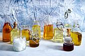 Various oils