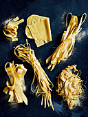 Various hand made pasta